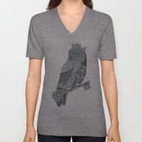 Owl King Unisex V-Neck