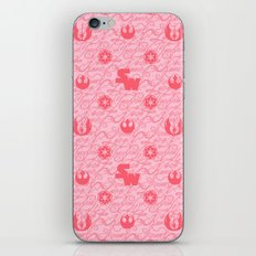 I Love You, I know. Star Wars Pillow Art in Pink iPhone & iPod Skin