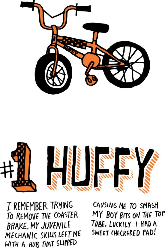 All My Bikes: 1, Department Store Huffy Canvas Print