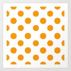 Polka Dots........... Art Print