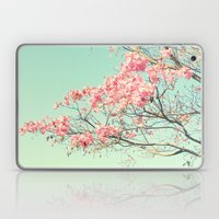 Spring Kissing The Sky Laptop & iPad Skin