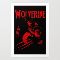 theWOLVERINE Art Print