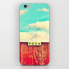 ROCK - Scrabble 2 iPhone & iPod Skin