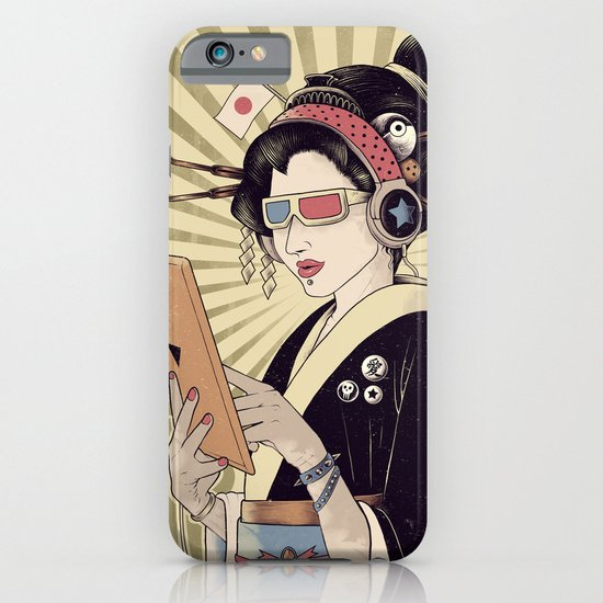 Geisha iPhone & iPod Case