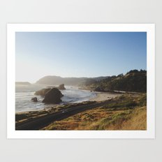 Gold Beach, Oregon Art Print