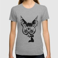 Fox Womens Fitted Tee Athletic Grey SMALL