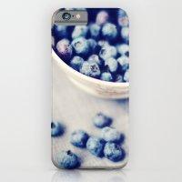Fresh Blueberries Kitchen Art iPhone 6 Slim Case