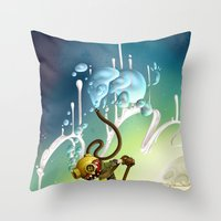 Whale Rider (#282 From M… Throw Pillow
