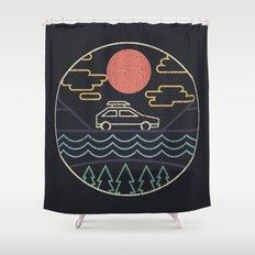 Summer Camp Shower Curtain