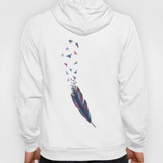 Feathered birds Hoody