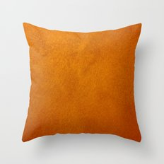 Gold Stucco Throw Pillow