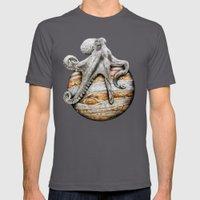 Celestial Cephalopod Mens Fitted Tee Asphalt SMALL