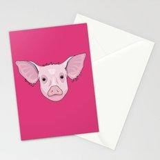Pig Stationery Cards