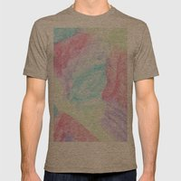 Chalking Around Mens Fitted Tee Tri-Coffee SMALL