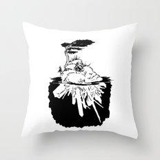 Crystal Islands 4 Throw Pillow