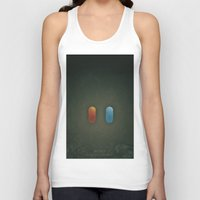 SMOOTH MINIMALISM - Matrix Unisex Tank Top