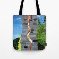 Let her hair down Tote Bag