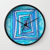 Vertigo Mosaic Wall Clock
