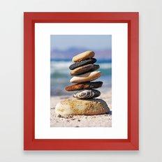 Pebbles Framed Art Print