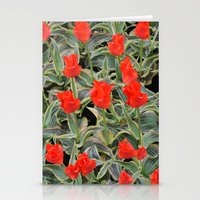 Fire Of Love Stationery Cards