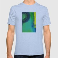 paint 1 Mens Fitted Tee Athletic Blue SMALL