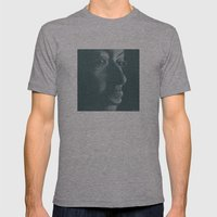 mama africa Mens Fitted Tee Athletic Grey SMALL