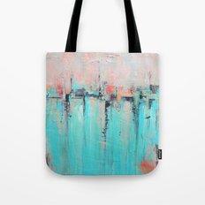 New Theory - Mixed Media Art Tote Bag