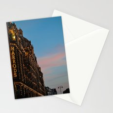 Harrod's Department Store London Stationery Cards