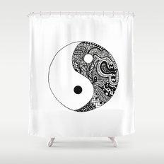 Yin Yang Shower Curtain
