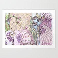 earth song Art Print