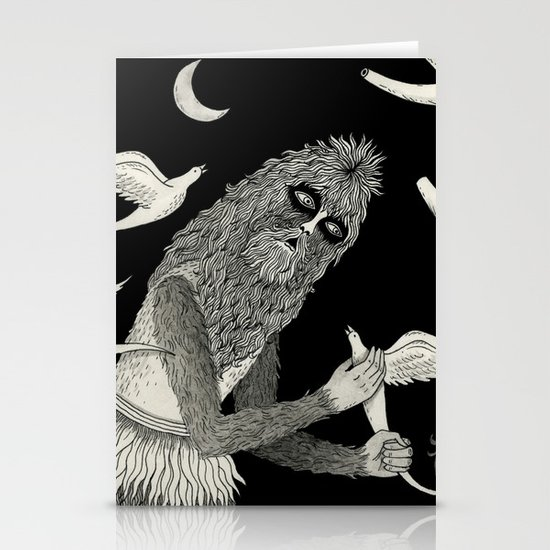Thievery in the Woods Stationery Card