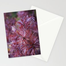 purple pine Stationery Cards