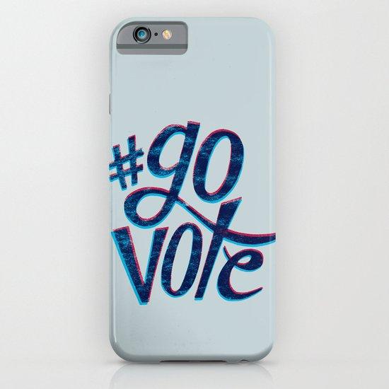 #GoVote iPhone & iPod Case