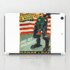 Franklin D. Roosevelt and his Amazing Robot Legs.... iPad Case