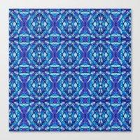 Diamond Tiles 2 Canvas Print