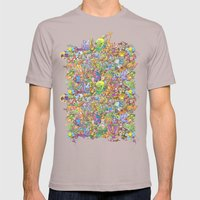 Creatures festival Mens Fitted Tee Cinder SMALL