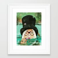 Framed Art Print featuring HATFUL OF HOLLOW by Stephan Parylak
