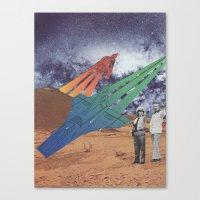 Space Dirt Canvas Print