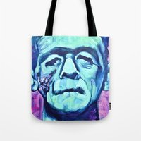 Frankenstein Halloween Z… Tote Bag