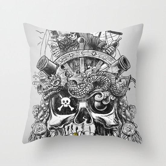 No Quarter Throw Pillow
