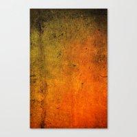 Grungy Eruption Canvas Print