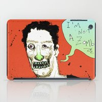 Not A Zombie iPad Case
