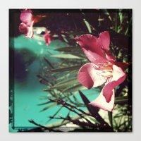 Canvas Print featuring Flower by SABOTAGE