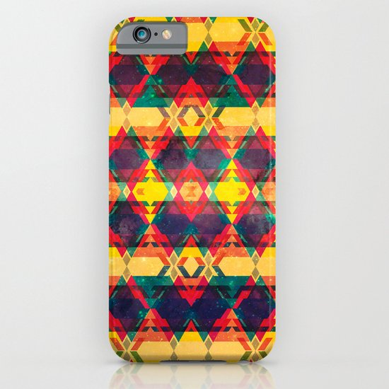 Green Abstract Diamond iPhone & iPod Case