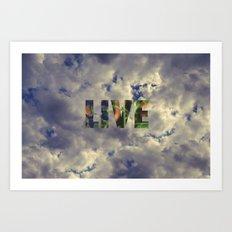 Live! Art Print