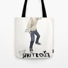 Whiteout Tote Bag