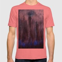 Forest of soul Mens Fitted Tee Pomegranate SMALL