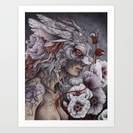 Art Print featuring Inconsolable  by Caitlin Hackett