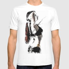 Arch Mens Fitted Tee White SMALL