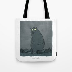 Beware Big Bears Tote Bag